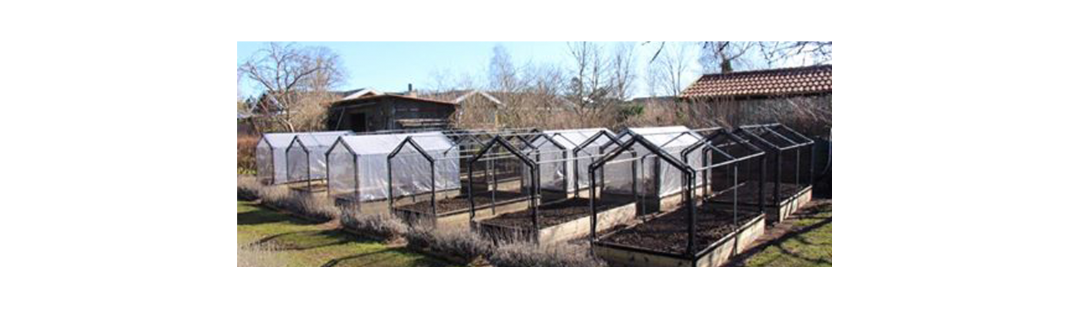 The care of the kitchen garden is made easier