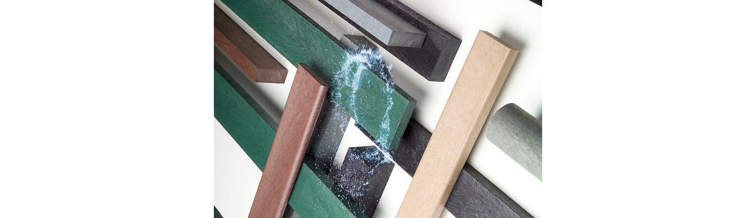 Genbrugs plastplanker i forskellige farver efter dit behov!