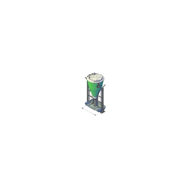 3IN1 NX MAXI 70W RUSTFRIT TRUG MED VINKELRAMME, 50-60 DYR/AUTOMAT