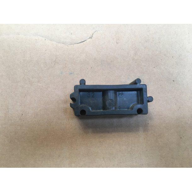 Afstandsstk-pp f 20 mm rørbærer - 10 stk