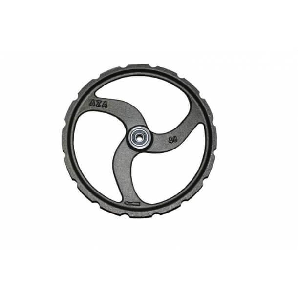 48 mm Hjørnehjul med kuglelejer NC hakker